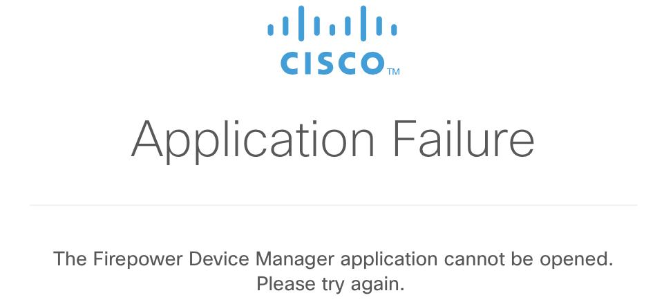FDM Application fails after upgrade